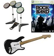продаю игру RockBand с гитарой и ударной установкой.